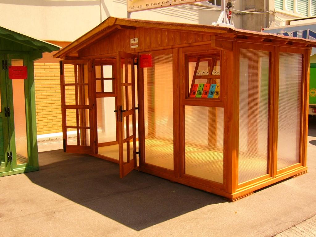 Serre in legno e vetro  Arredamenti Zanarello